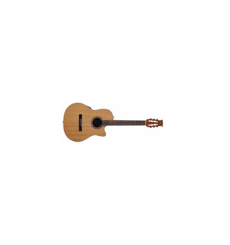 APPLAUSE Guitarra clásica electro-acústica AB24CII Mid Cutaway Nylon Natural Mate