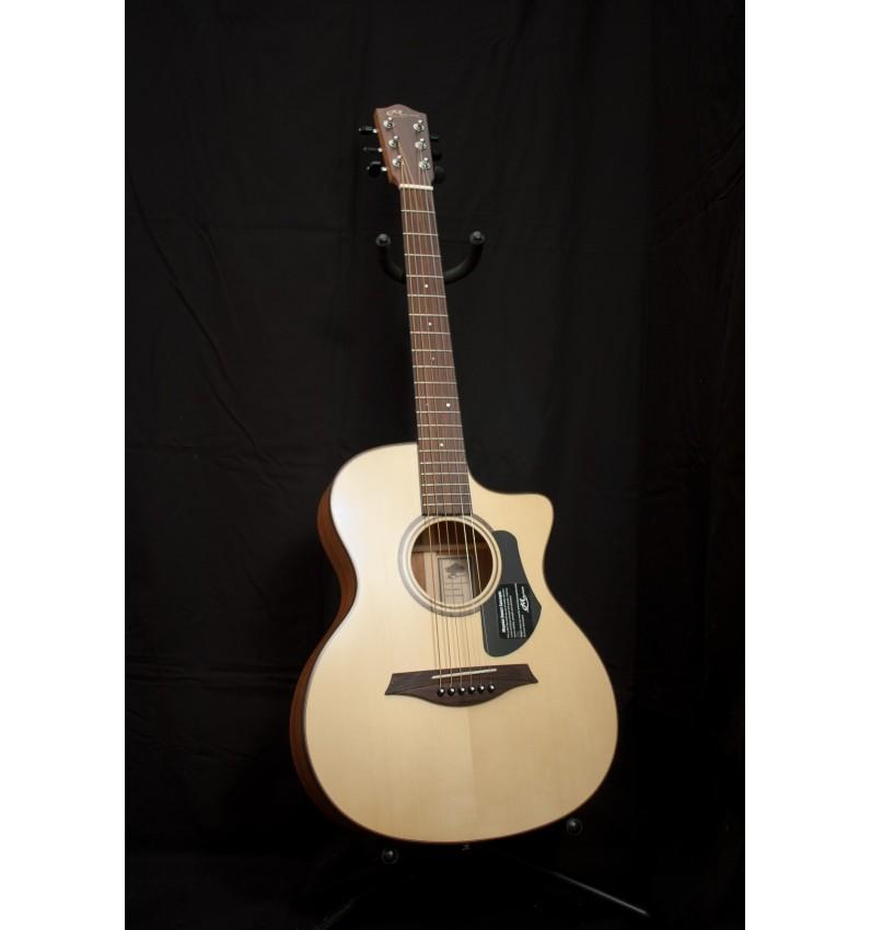 Guitarra Acústica de viaje mini jumbo