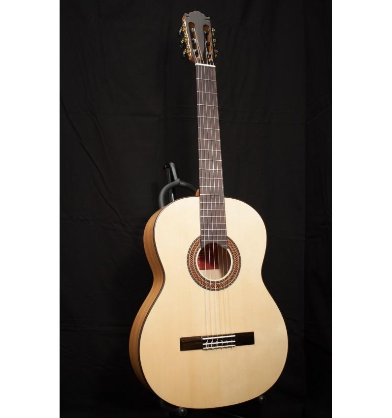 """Guitarra Flamenca Martínez España 08S """"Blanca"""""""