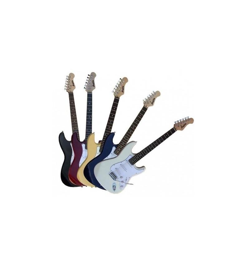 Guitarra Electrica Strato Negra