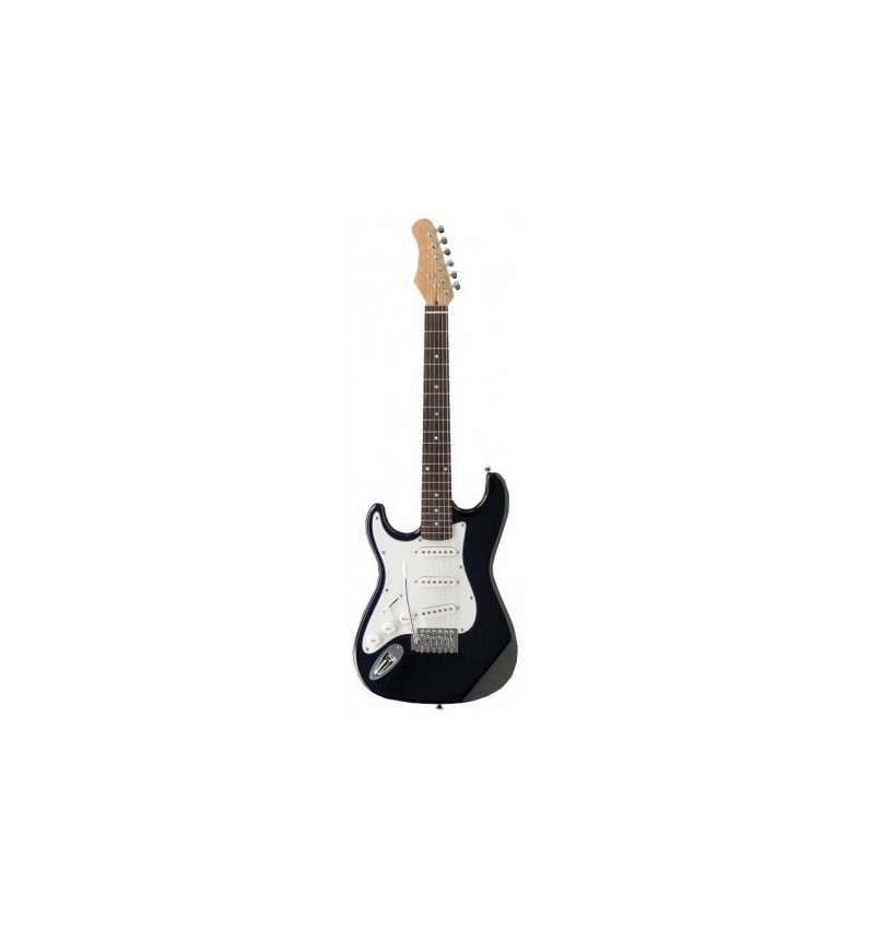Guitarra Electrica Negra Zurdos Strato