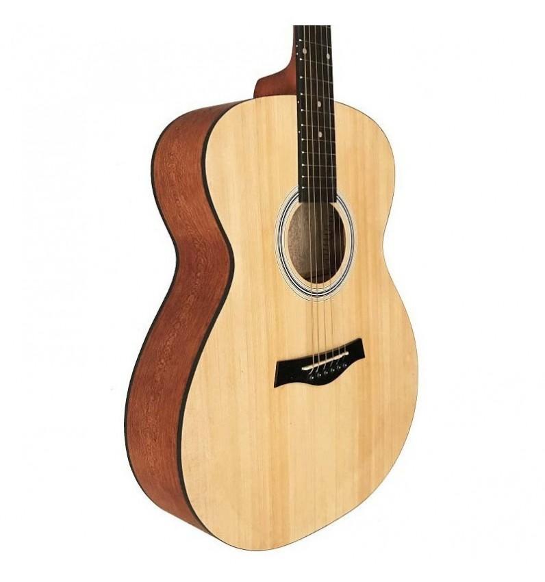 Guitarra Acustica Mini Jumbo tipo APX de Sapeli Mate