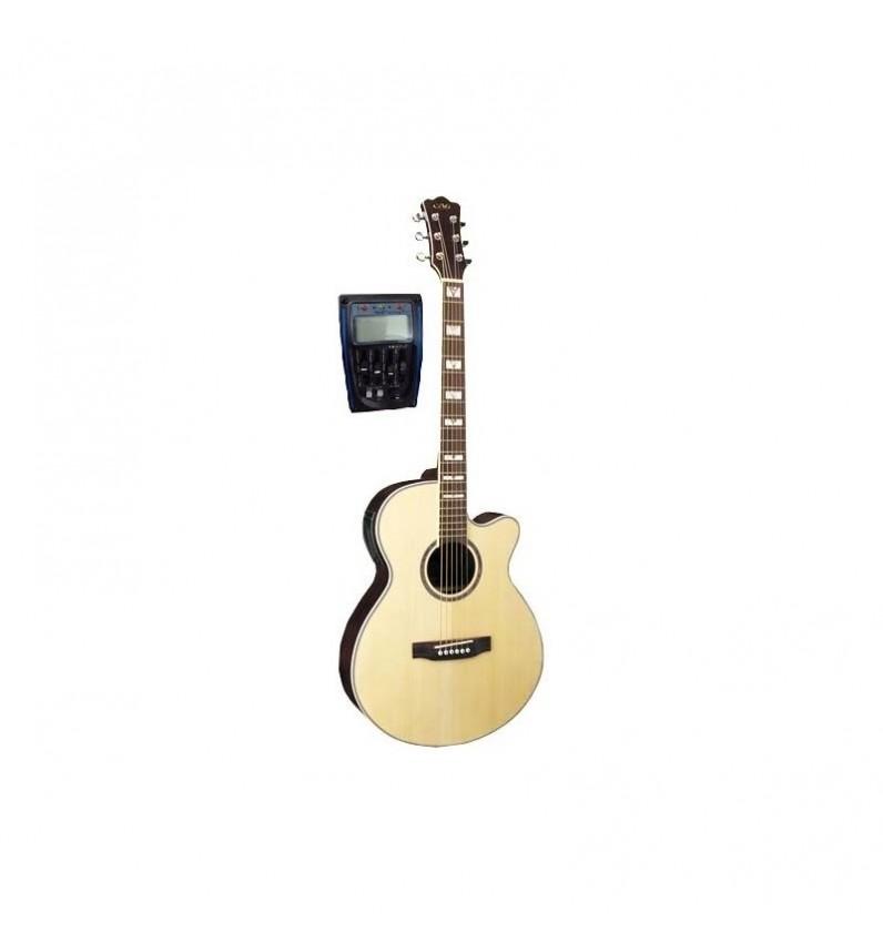 Guitarra Acustica Mini Jumbo NATURAL MATE